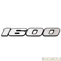 Letreiro - Fusca - 1974 até 1986 - 1600 - Modelo 91 - Cola - cada ( unidade )
