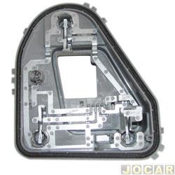 Soquete da lanterna traseira - Fischer - Gol G6 2013 em diante - modelo Arteb - lado do passageiro - cada ( unidade ) - 1490096D
