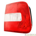 Lanterna traseira - Valeo / Cibié - Polo Sedan 2003 até 2006 - da tampa - sem luz neblina - lado do passageiro - cada ( unidade ) - 600.772