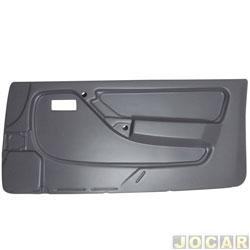 Revestimento de porta - alternativo - Monza 1991 até 1996 - 2 portas - cinza - lado do passageiro - cada (unidade)