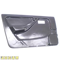 Revestimento de porta - alternativo - Monza 1991 até 1996 - 4 portas - preto - lado do motorista - cada (unidade)