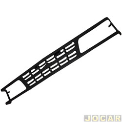 Grade dianteira - alternativo - Bano - A - 20 / C - 20 / D - 20 - Veraneio 1993 até 1996 - chapa de aço - preta - cada ( unidade ) - B01.01.13