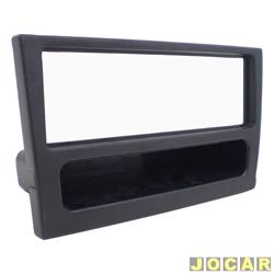 Moldura do painel do rádio - Corsa - 2003 até 2007 - Meriva - todos modelos - com porta CD - preta - cada ( unidade )