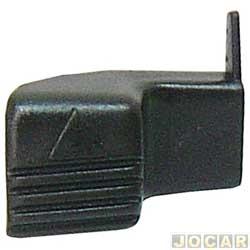 Maçaneta externa da porta - alternativo - Elba/Premio/Uno - 1984 até 2010 - 2 portas - lado do passageiro - cada (unidade)