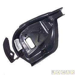 Carcaça de aço da lanterna - alternativo - Palio 1996 até 2000 - para pintar - lado do motorista - cada ( unidade )