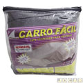 Capa de carro - Jacar - Auto Fcil - permevel - p/garagem coberta-pequena - cada (unidade)
