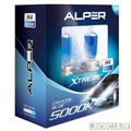 Kit da l�mpada do farol - Alper - Gol/A3/Bonanza/Topic - H4 - Crystal Blue Xtreme - 5000K - par - 24589