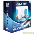 Kit da lmpada do farol - Alper - HB3 - Crystal Blue Xtreme - 5000k - par - 24557