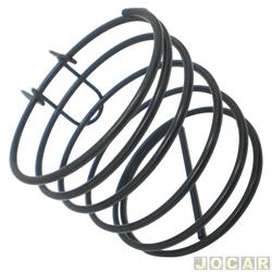 Porta copo - espiral - fixado na gradinha de ar no painel - preto - cada ( unidade )