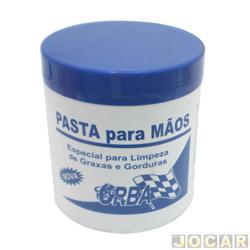 Pasta para lavar a mão - Orba - limpa gorduras, graxas e tintas etc - 500g - cada ( unidade ) - 30001