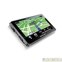 GPS ( navegador ) - Multilaser - Tracker 2 - tela de 7 - com TV / FM - cada ( unidade ) - GP015