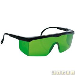 Óculos de Proteção - universal - verde - cada ( unidade )