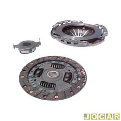 Kit de embreagem - LUK - Palio / Siena / Strada / Fiorino / Uno - 1.0 / 1.3 - 8V / 16V - 2001 em diante - Fire - com disco, platô e rolamento - jogo - 618 3017 00