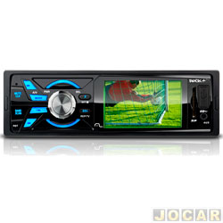 Auto rádio mp3 player - Multilaser - Rock tela 3, TV digital, USB, Aux. P2 e SD Card. - cada ( unidade ) - P3227