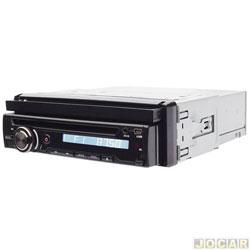 DVD player - Dazz - Rádio AM / FM Entradas USB / SD / Aux e Frente Removível - cada ( unidade ) - DZ - 5215BT