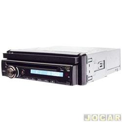 DVD player - Dazz - Rádio AM / FM Entradas USB / SD / Aux e Frente Removível - cada ( unidade ) - DZ - 5220BT