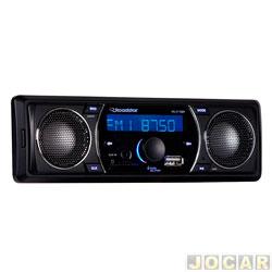 Auto rádio mp3 player - Roadstar - rádio FM / SD / USB com alto falante - cada ( unidade ) - RS - 2710BR