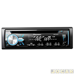 CD player - Pioneer - USB / MP3 / Mixtrax / WMA / Interface P / android / Flashing Light - cada ( unidade ) - DEH - X1BR