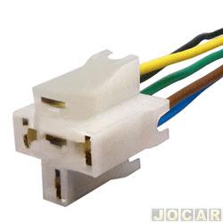 Rele do farol - alternativo - suporte para relê - 5 fios - cada ( unidade )
