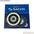 Kit de embreagem - Sachs - Clio / Kangoo / Twingo / Logan 1.0 8 / 16v 1999 até 2012 - Peugeot 206 1.0 16v 2000 até 2010 - 180mm 26 estrias ( CX JBL ) - cada ( unidade ) - 6591