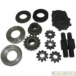 Kit de calços - Spicer - F - 1000 1998 / C20 1985 até 1996 / Blazer / S10 1995 até 2011 - cada ( unidade ) - BA401161 - X