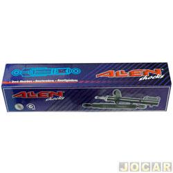 Amortecedor dianteiro - alternativo - Allen - Fiesta 1994 até 1995 - importado - com barra estabilizadora - cada ( unidade ) - 25128