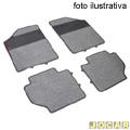 Tapete de carpete+borracha - Borcol - Gol / Parati - 2000 até 2008 - 1.6 / 1.8 / 2.0 - Carpet 4 peças - cinza - jogo - 03114073