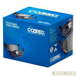 Pastilha de freio - Cobreq - Bonanza / A - 20 / C - 20 / D - 20 / Veraneio / F - 1000 08.94 / - sistema Bendix - dianteiro - jogo - N - 330
