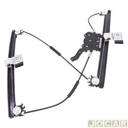 Máquina de vidro - alternativo - Golf 1999 até 2007 - elétrica-p/motor - dianteira - lado do motorista - cada (unidade)