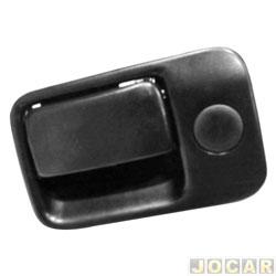 Botão do porta-luvas - Golf 1994 até 1998 - sem chave - preta - cada (unidade)