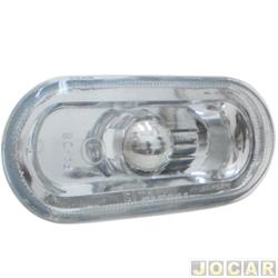 Lanterna do para-lama - Fitam - Golf/Passat/Bora - 1999 até 2007 - lisa sem soquete - branca - cada (unidade) - 33044-MU