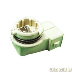 Soquete da lanterna dianteira - alternativo - Golf até 1998 - Polo apartir de 2002 -  Para-lama - cada (unidade)