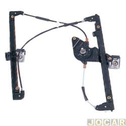 Máquina de vidro - alternativo - Golf 1999 até 2007 - dianteiro - lado do passageiro - cada (unidade)
