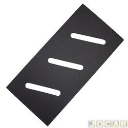 Anti-ruído - alternativo - Fusca 1959 até 1996 - sem cola - da porta - preto - cada (unidade)