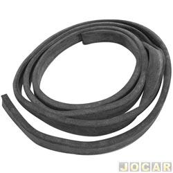 Borracha da tampa traseira - alternativo - Fusca 1959 até 1996 - de colar - cada (unidade)