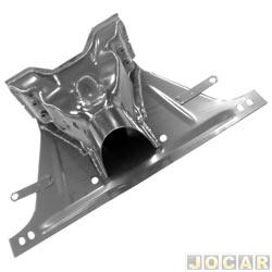 Conjunto montado do chassis - alternativo - IGP - Fusca 1200/1300 - 1959 até 1975 - 3x1 - túnel, bandeja e cabeçote - para pintar - cada (unidade) - 064