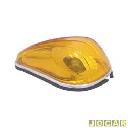Lanterna dianteira tuning - alternativo - Inovox (RCD) - Fusca 1971 em diante - linha Evolution - âmbar (amarela) - dianteiro - cada (unidade) - I2425