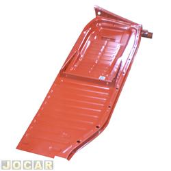 Assoalho - alternativo - Estriguarú - Fusca 1959 até 1975 - completo - para pintar - lado do motorista - cada (unidade) - S157