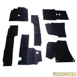 Forração - alternativo - Fusca - com túnel - carpete - dianteiro - jogo