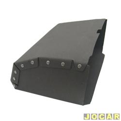 Caixa do porta-luvas - alternativo - Fusca - de papelão - preto - cada (unidade)