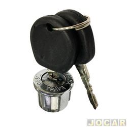 Cilindro da chave do contato - alternativo - Fusca 1978 até 1996 - Brasília 1973 até 1982 - cada (unidade)
