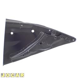 Remendo lateral - alternativo - Fusca 1971 até 1996 - com suporte bacalhau - para pintar - traseiro - lado do motorista - cada (unidade)