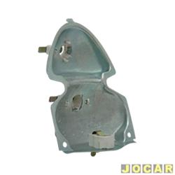 Soquete da lanterna traseira - alternativo - Fusca 1500 - cada (unidade)