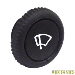 Botão limpador do para-brisa - alternativo - Fusca 1959 até 1996 - cada (unidade)
