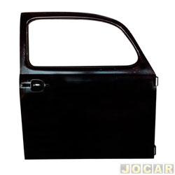 Porta - alternativo - IGP - Fusca 1978 até 1996 - para pintar - lado do passageiro - cada (unidade) - 090