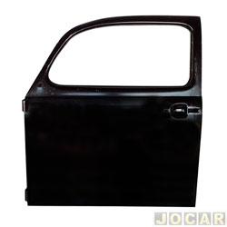 Porta - alternativo - IGP - Fusca 1978 até 1996 - para pintar - lado do motorista - cada (unidade) - 091