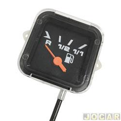 Relógio do combustível - Fusca 1983 até 1996 - preto - cada (unidade)