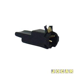 Soquete da lâmpada do painel - alternativo - Fusca - curto - cada (unidade)