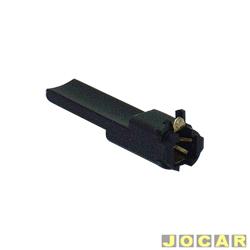 Soquete da lâmpada do painel - alternativo - Fusca - longo - cada (unidade)