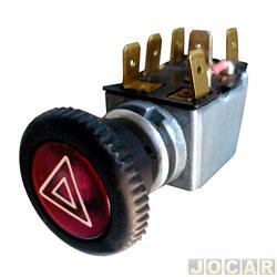 Interruptor de emergência - alternativo - Fusca 1959 em diante - Brasília 1973 até 1982 - Kombi 1957 até 1998 - cada (unidade)